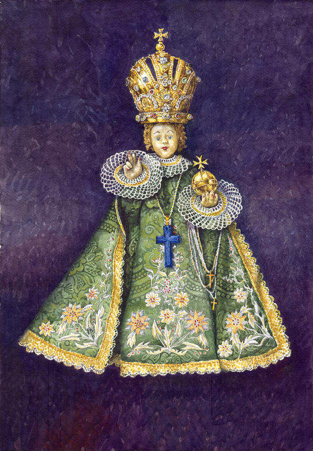 Infant Jesus Of Prague Painting  - Infant Jesus Of Prague Fine Art Print