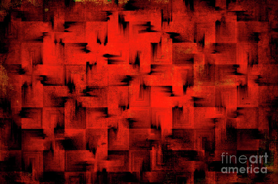 Inferno Digital Art  - Inferno Fine Art Print