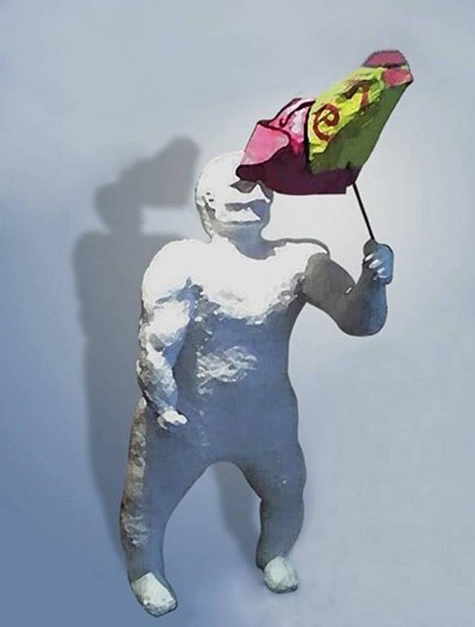 Enano Sculpture - infidelity  Infidelidad by Fernando A Hernandez