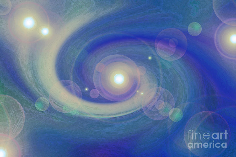 Infinity Blue Photograph