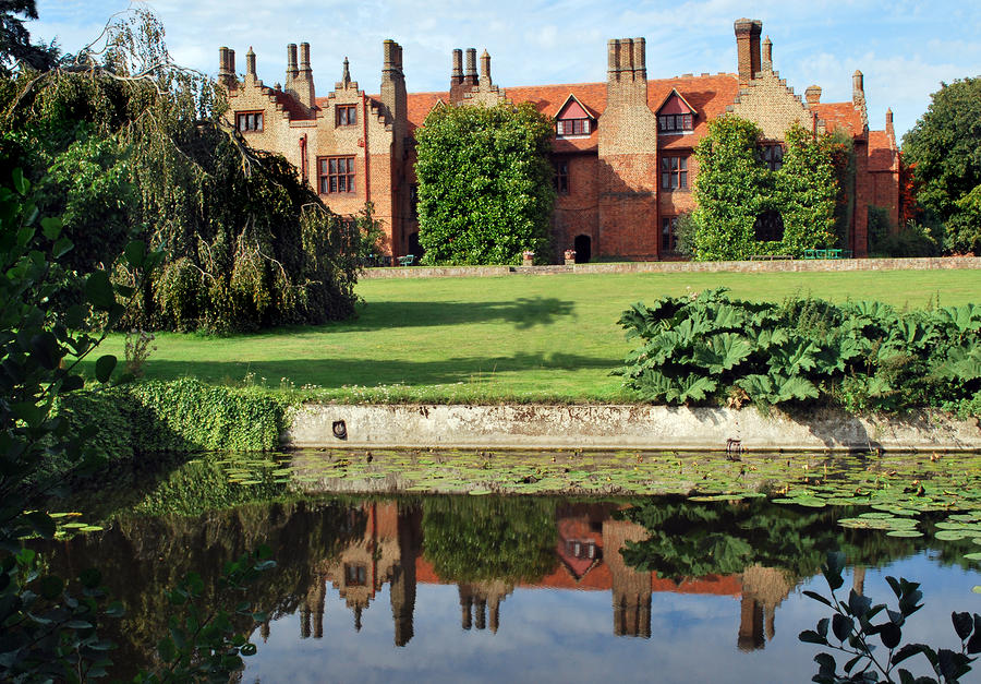 Ingatestone Hall. Photograph  - Ingatestone Hall. Fine Art Print