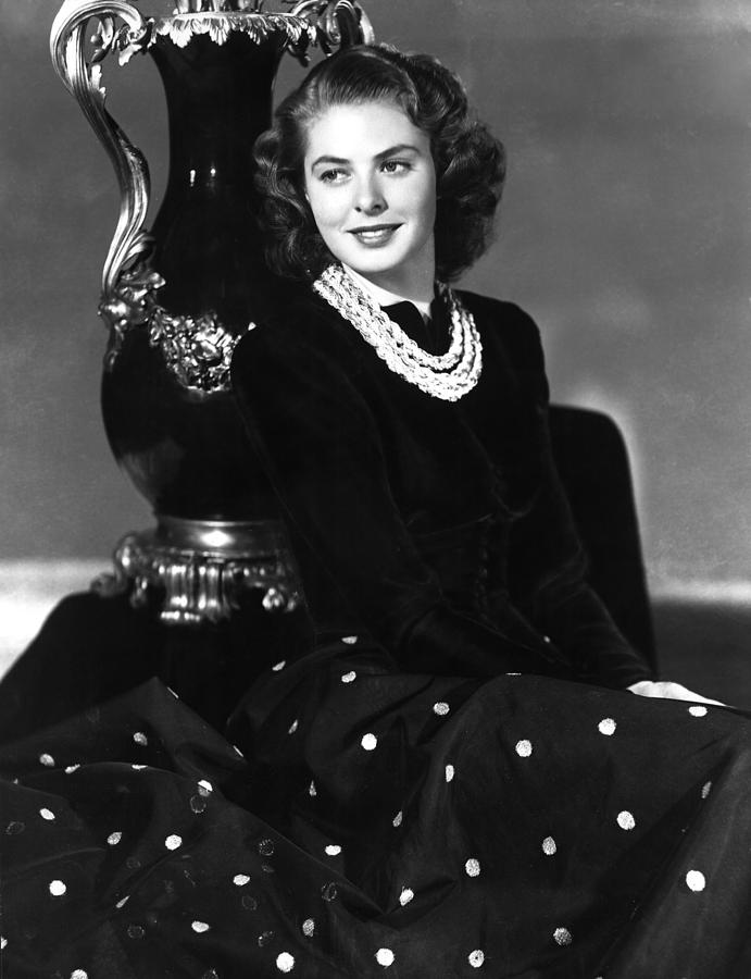 Ingrid Bergman In The Late 1930s Photograph