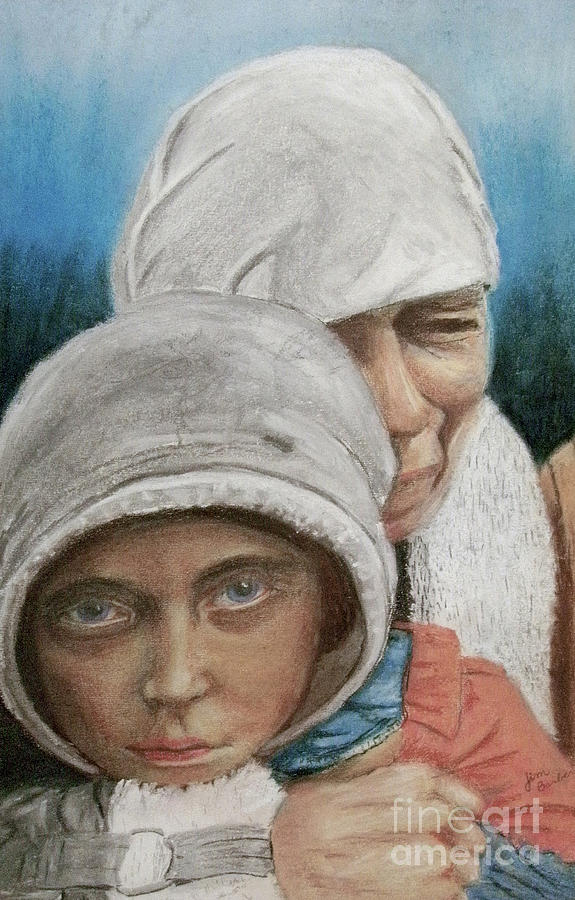 Impressionistic Painting - Inheritance Of Hate by Jim Barber Hove
