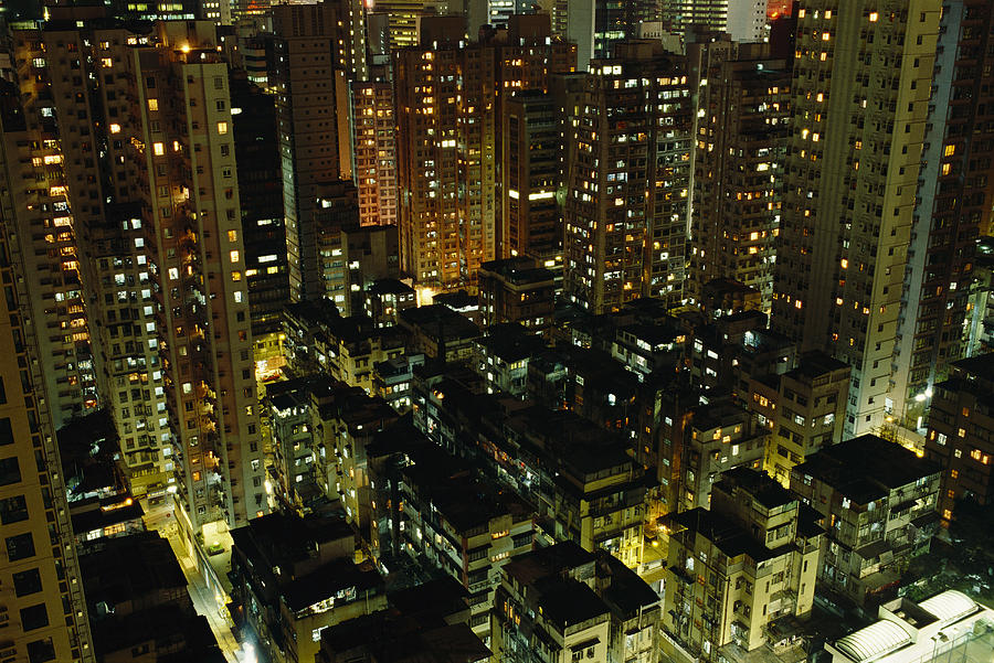 Inland View Of Sheung Wan And Central Photograph