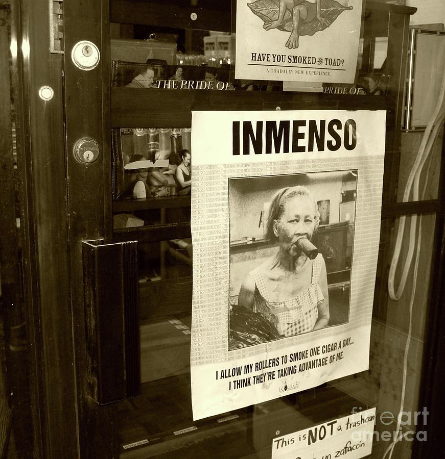 Inmenso Cohiba Photograph