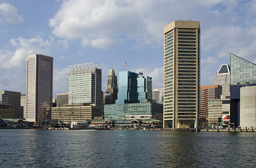 Inner Harbor - Baltimore  Maryland Photograph  - Inner Harbor - Baltimore  Maryland Fine Art Print