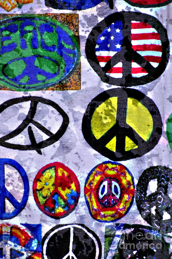 Peace Signs - Peace Symbols - Peace On Earth - Inner Peace Photograph - Inner Peace by Juls Adams
