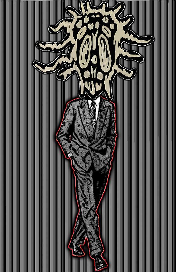 Clip Digital Art - Insectoid Fashion 2 by Travis Burns