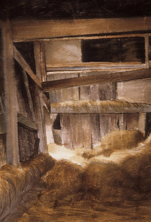 Inside Keelers Barn Painting