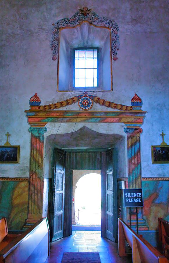 Inside mission santa barbara photograph by steven ainsworth for Case in stile missione santa barbara