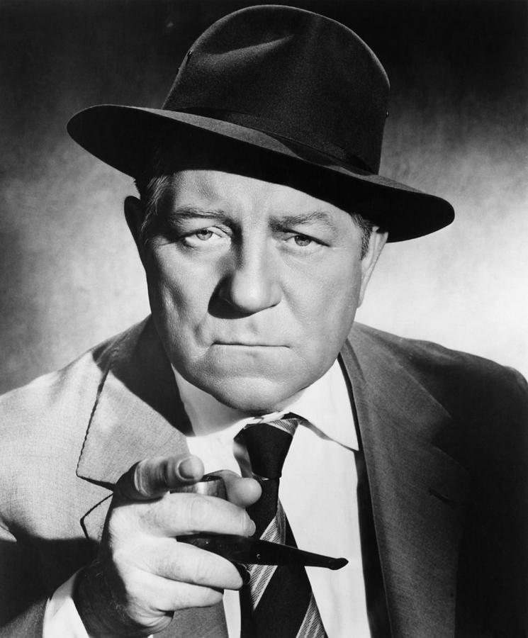 1950s Portraits Photograph - Inspector Maigret, Aka Maigret Tend Un by Everett