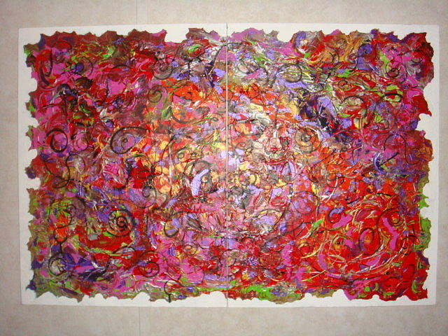 Acrylic Painting - Inspiration by Catherine Nichols
