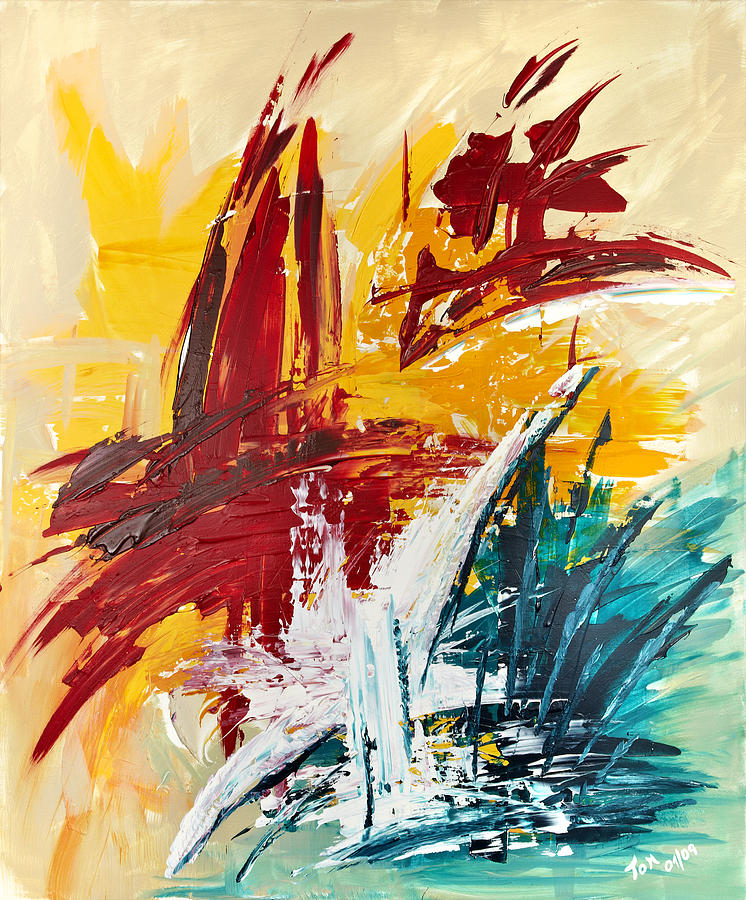 Abstract Art Painting - Inspiration Meese I by Thomas Kleiner
