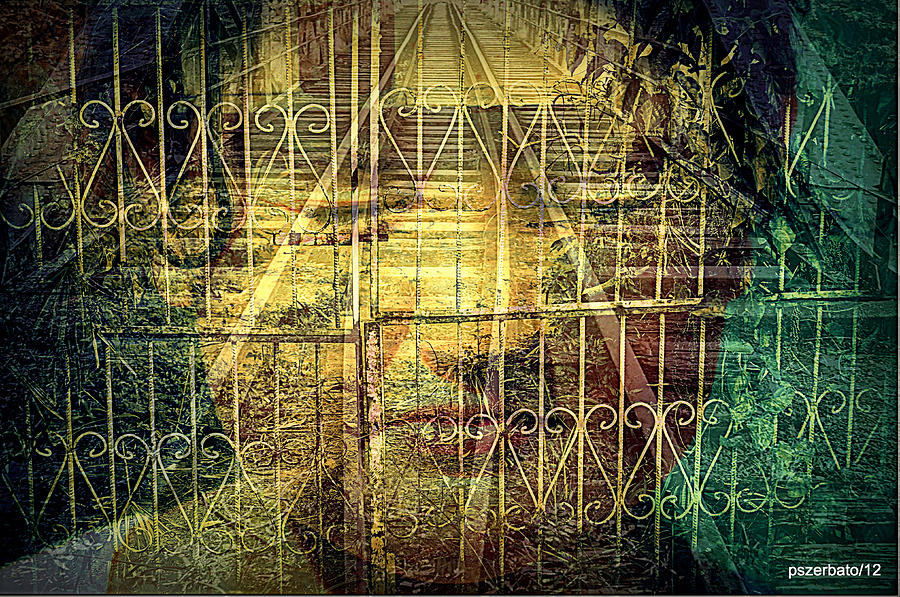 Insurmountable Barriers And Illusory Of Our Minds Digital Art  - Insurmountable Barriers And Illusory Of Our Minds Fine Art Print