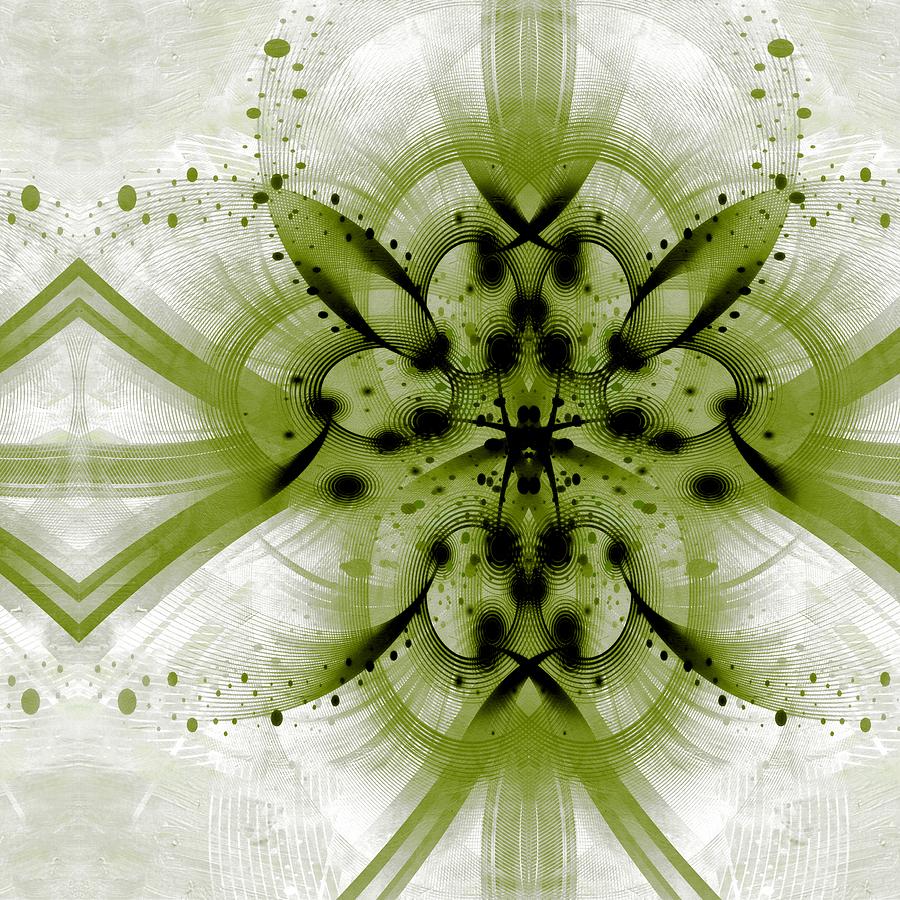 Id Mixed Media - Intelligent Design 3 by Angelina Vick