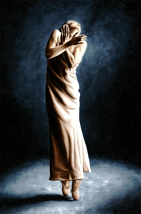 Intense Ballerina Painting