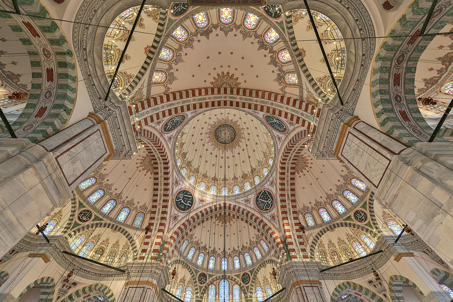 Interior Of Fatih Mosque Photograph