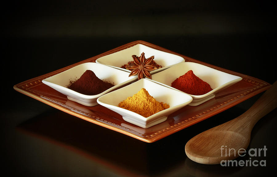 International Kitchen Spices Photograph  - International Kitchen Spices Fine Art Print