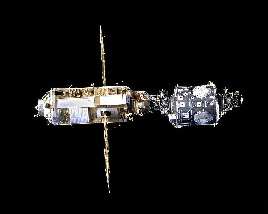 International Space Station In 1998 Photograph