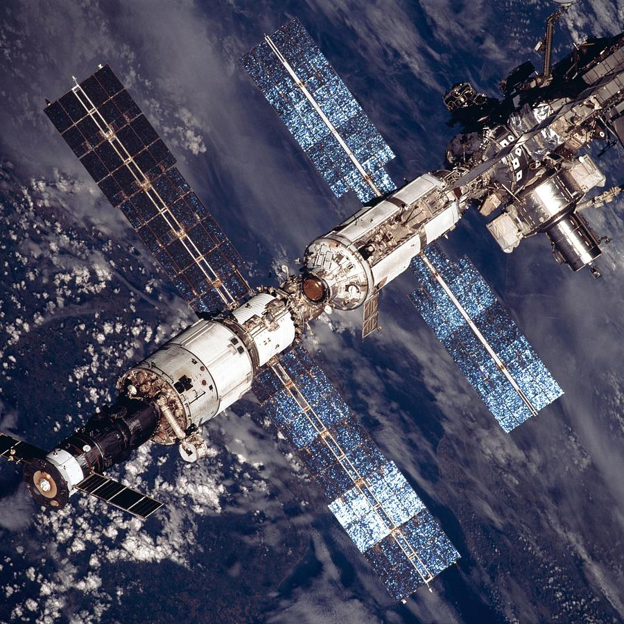 International Space Station In 2001 Photograph