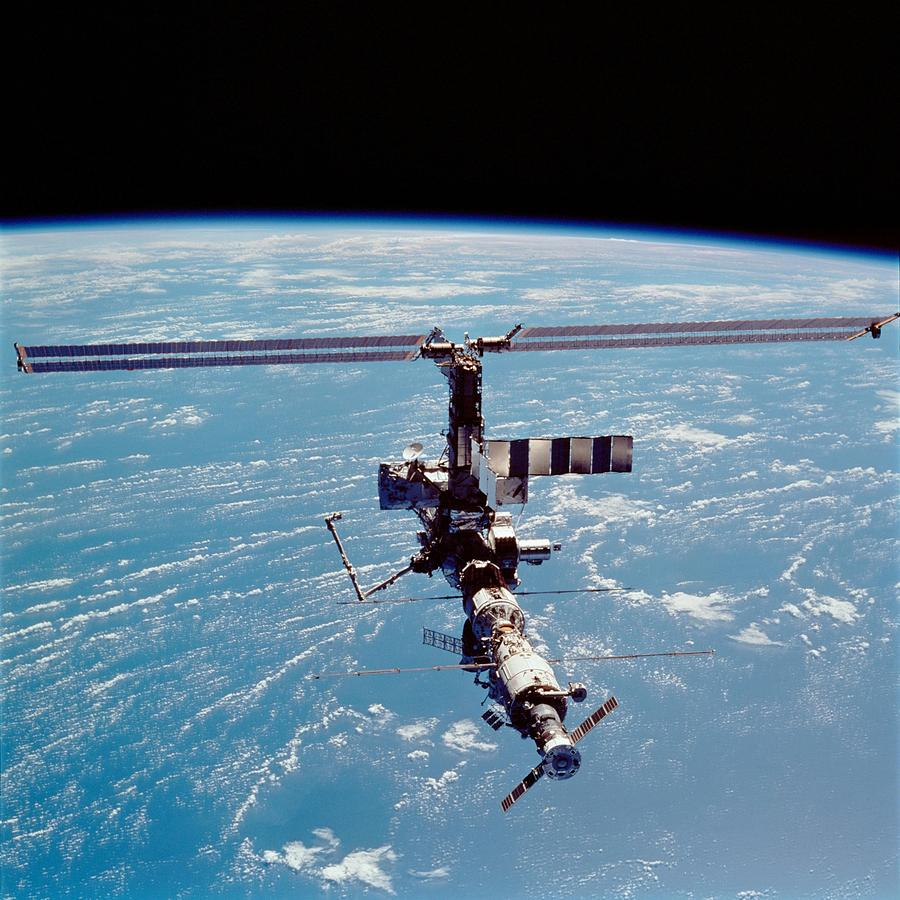 International Space Station In 2002 Photograph
