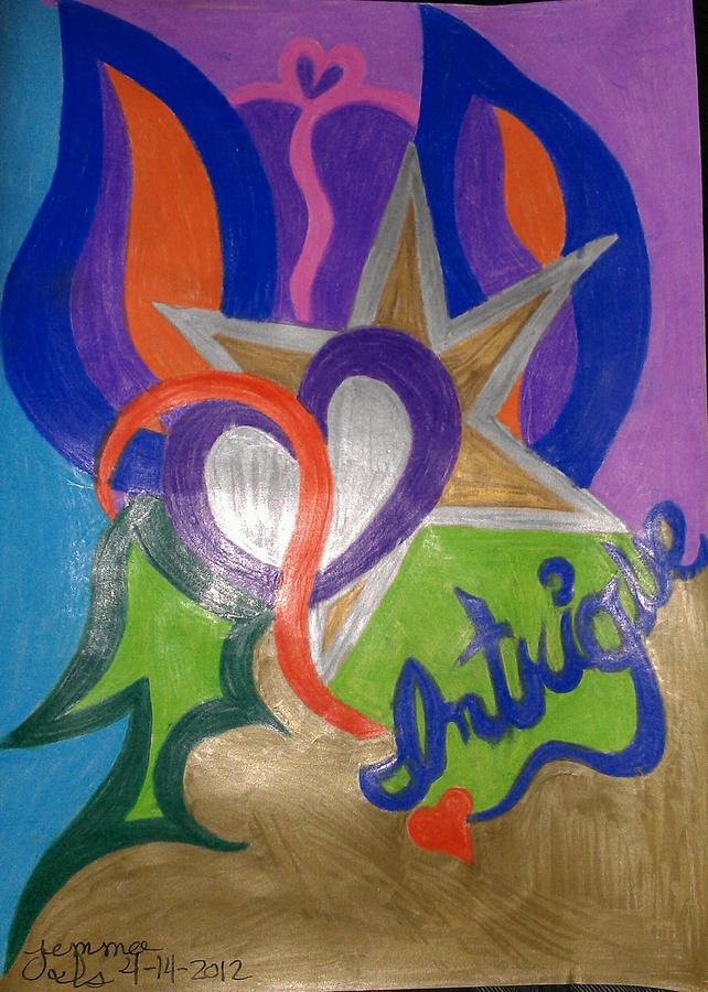 Mystic Drawing - Intigue by Jemma Starseed