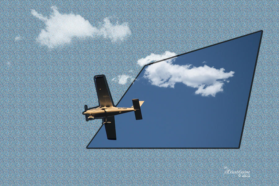 Into The Wild Blue Yonder Photograph  - Into The Wild Blue Yonder Fine Art Print