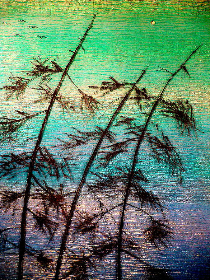 Into The Wind Painting  - Into The Wind Fine Art Print