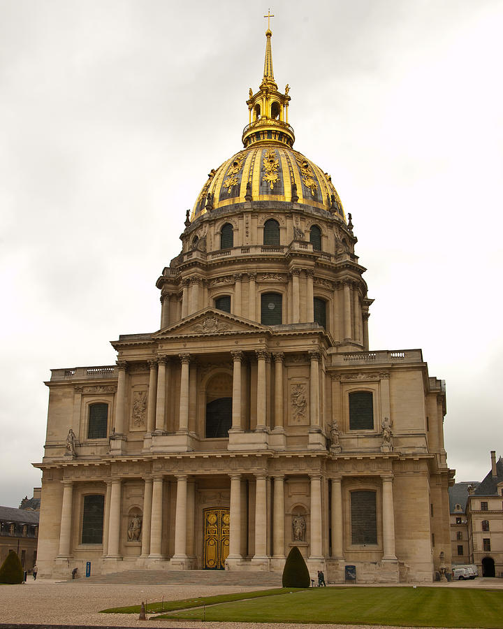 Paris Photograph - Invalides Paris France by Jon Berghoff