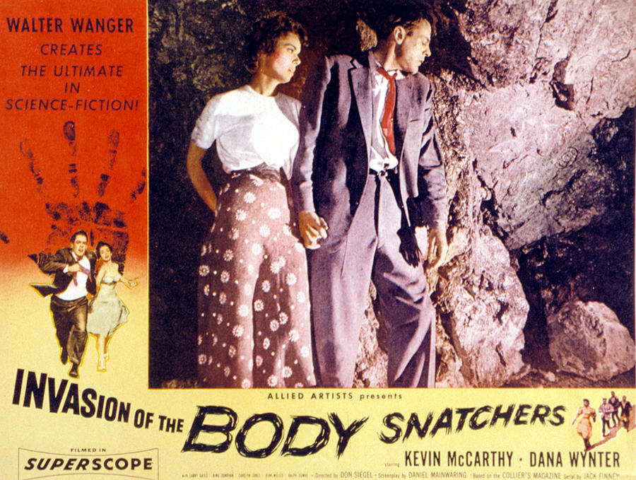 1950s Poster Art Photograph - Invasion Of The Body Snatchers, Dana by Everett