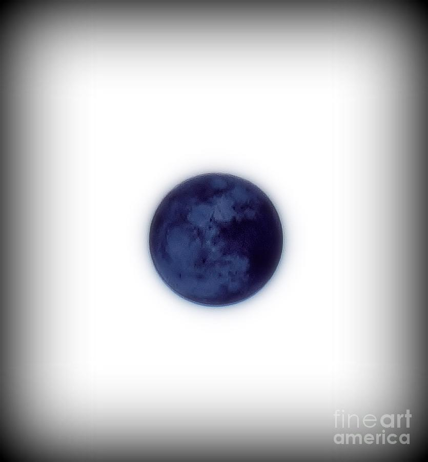 Inverted Moon Photograph