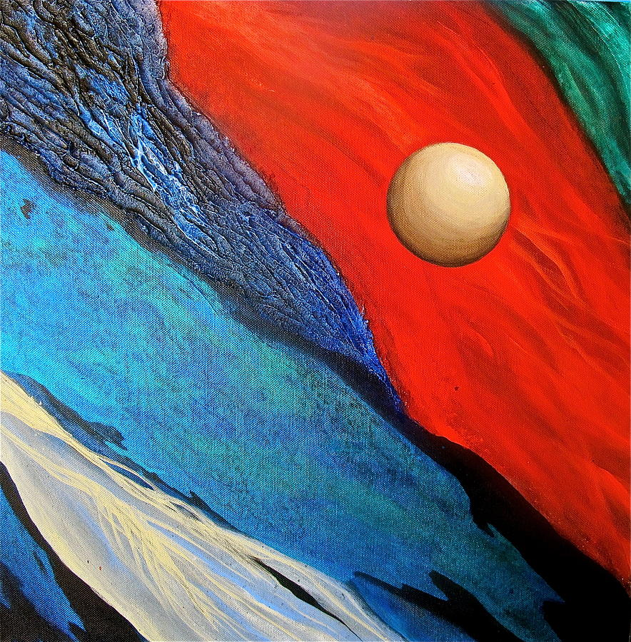 Io Abstract Painting
