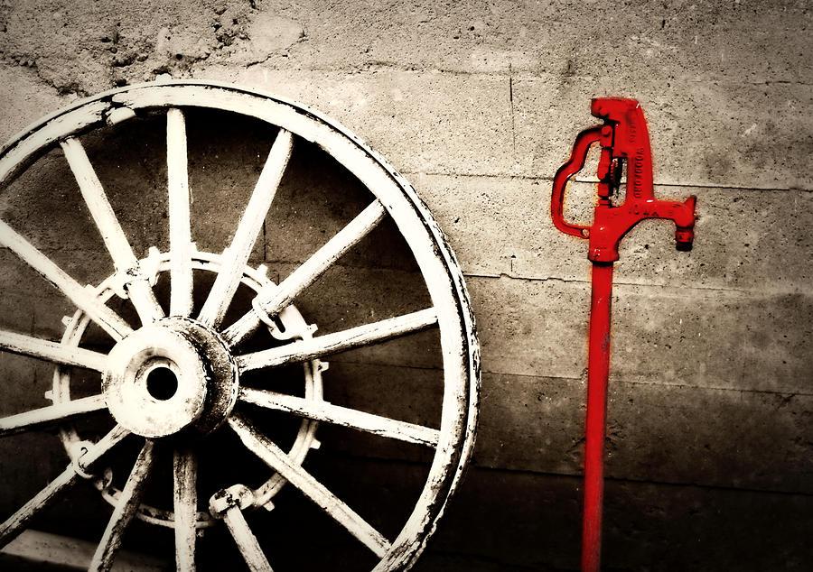 Iowa Hydrant Photograph