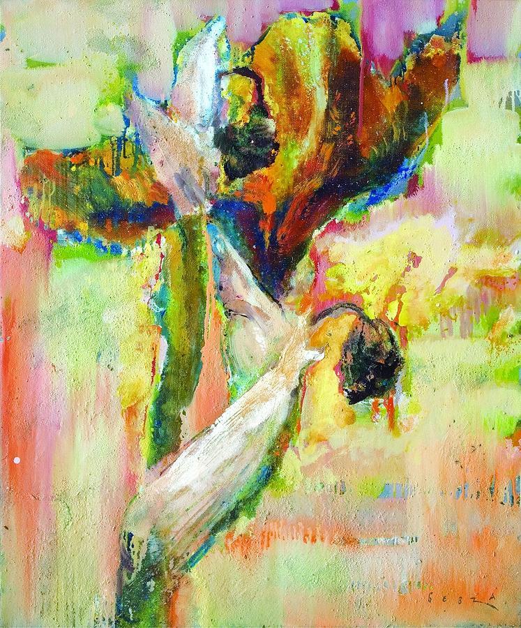 Iris 13 Painting