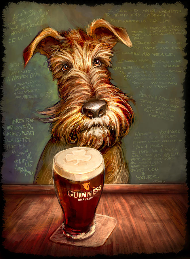 Irish Stout Painting