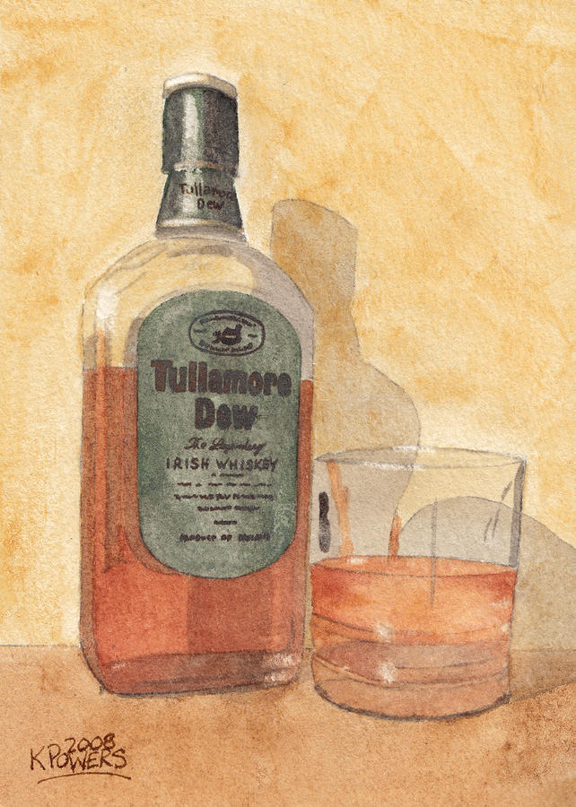 Irish Whiskey Painting  - Irish Whiskey Fine Art Print