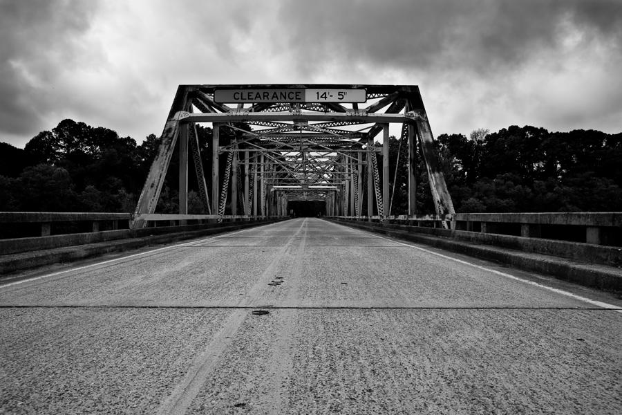 Iron Bridge Mississippi Photograph