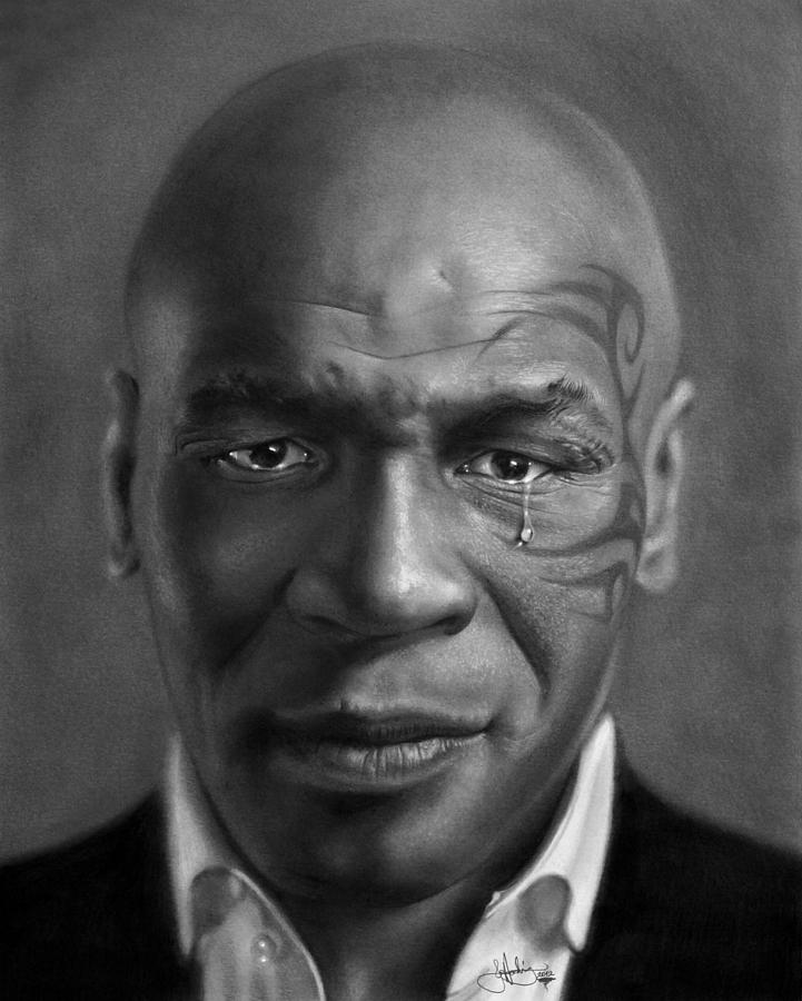 Iron Mike Tyson Drawing Drawing