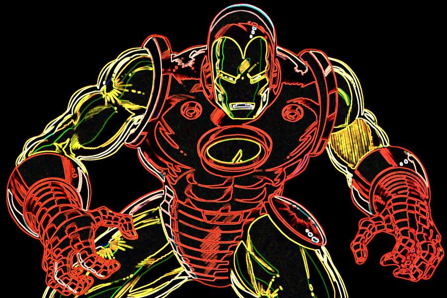 Ironman Digital Art