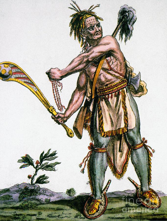 1787 Photograph - Iroquois Warrior by Granger