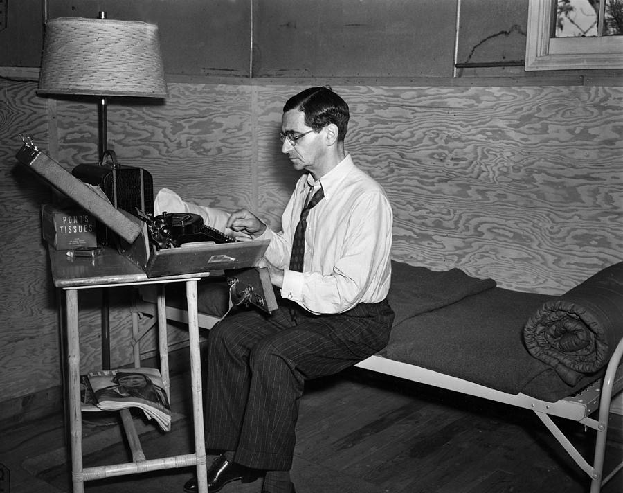 Irving Berlin Rehearses Photograph