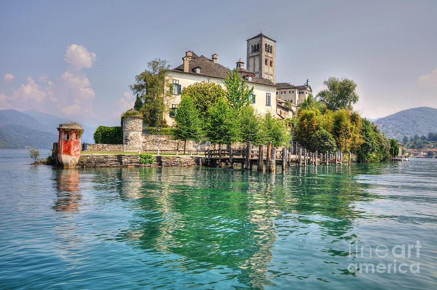 Island Of San Giulio Photograph - Island San Giulio by Mats Silvan