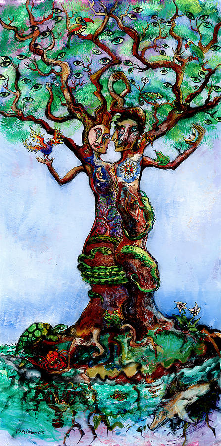 Isle Of The Tree Painting  - Isle Of The Tree Fine Art Print