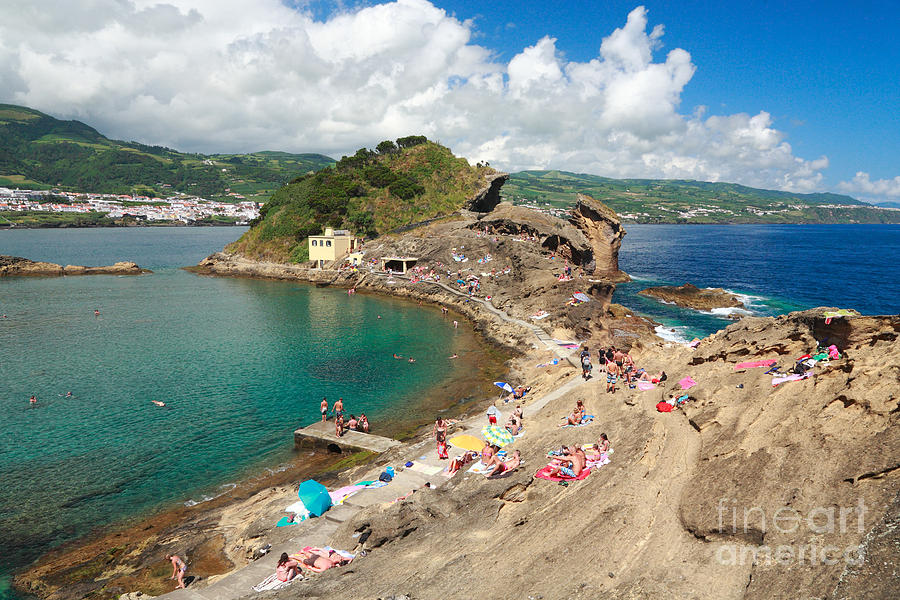 Islet In The Azores Photograph