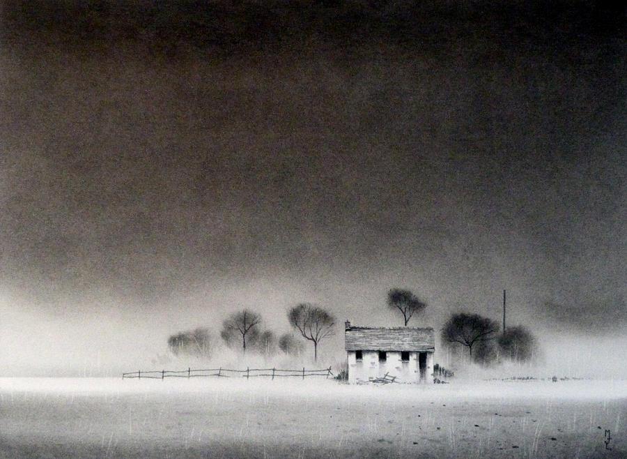 Isolation Drawing by Mark Lockwood Isolation Artwork