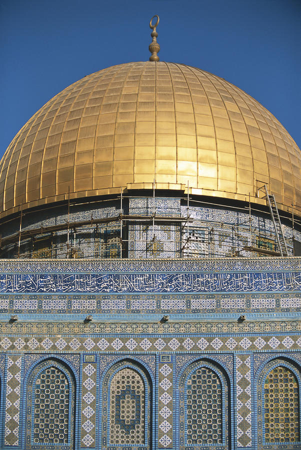 Israel, Jerusalem Dome Of The Rock Photograph  - Israel, Jerusalem Dome Of The Rock Fine Art Print
