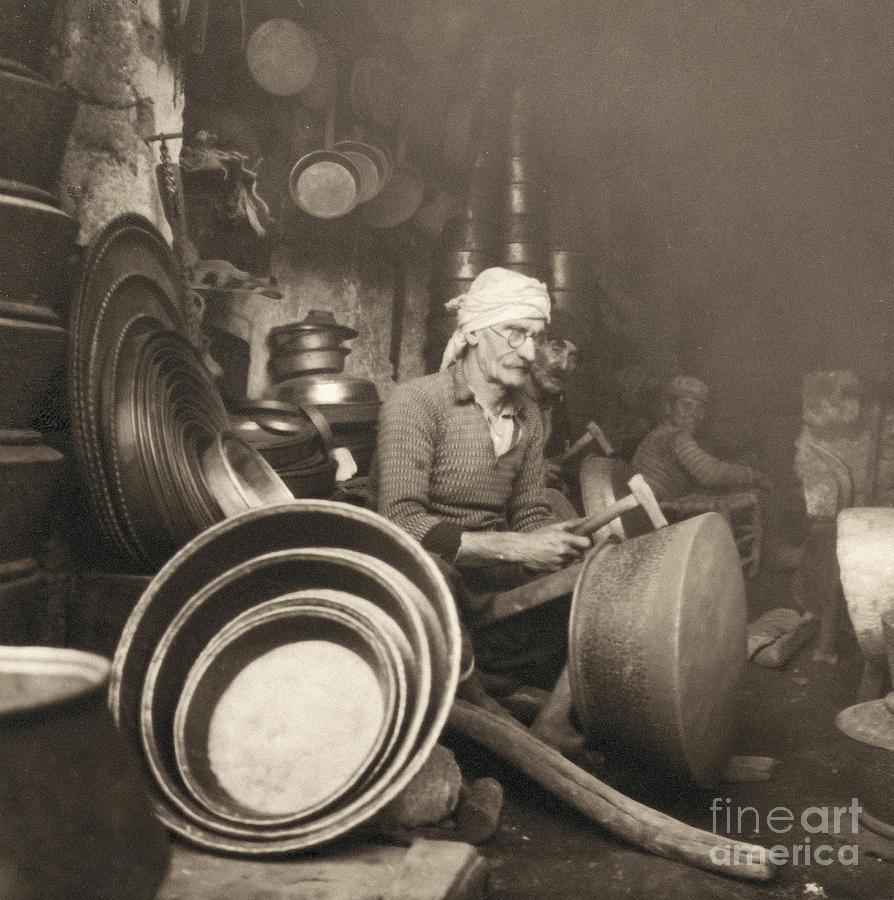 Israel: Metal Workers, 1938 Photograph