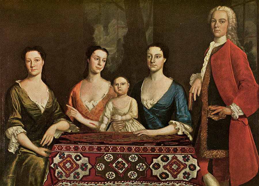 Issac Royall And His Family Painting
