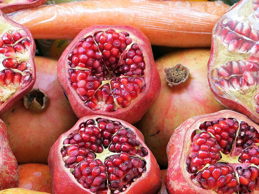 Istanbul Pomegranates Photograph
