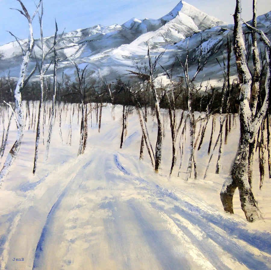 Istidan Mountain Painting